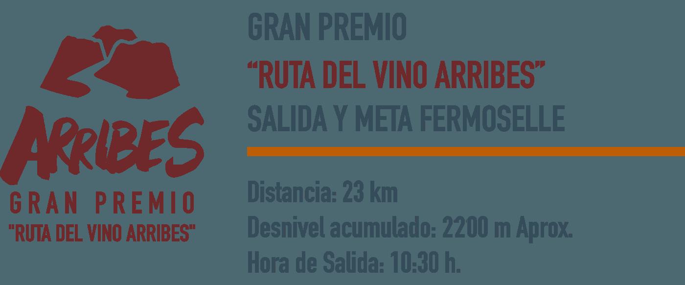 Arribes Gran Premio Ruta del Vino 2020 - header