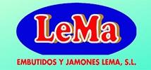 Jamones y Embutidos LeMa - Logo 214x100px